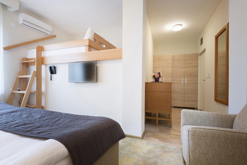 Space-efficient bedroom