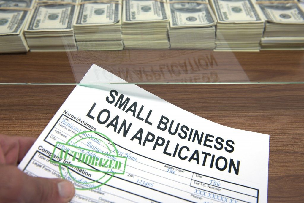 Approved small business loan