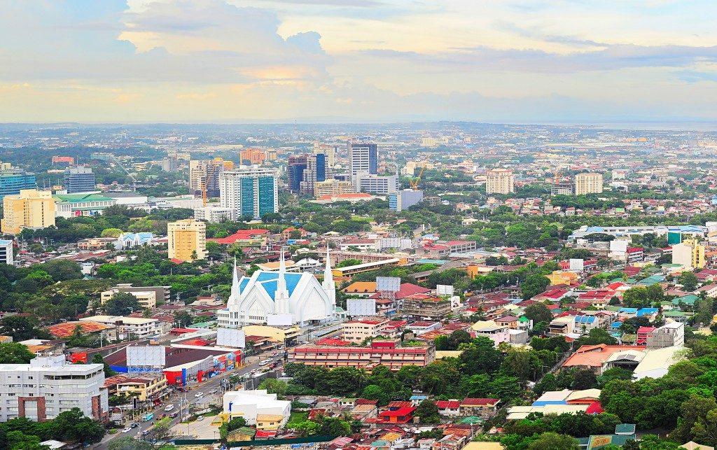 Panorama of Cebu City