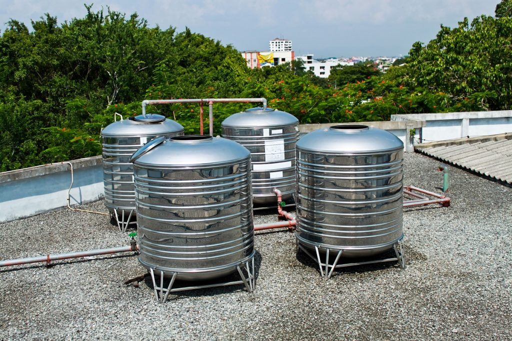 roof tanks