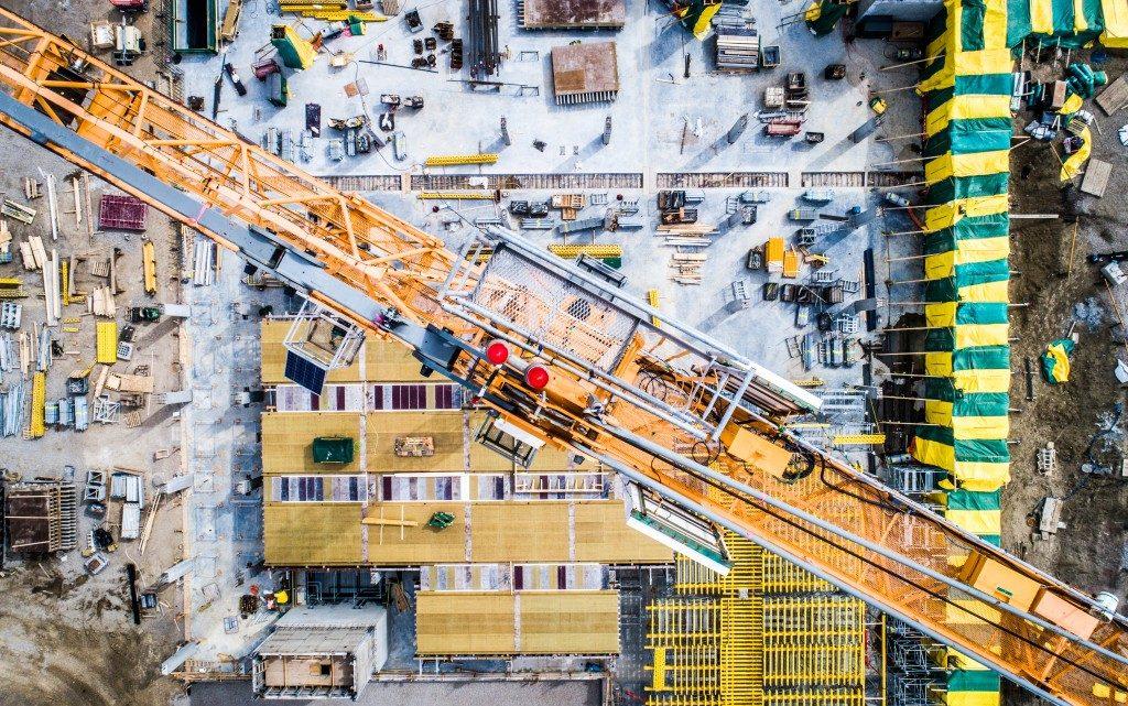 Crane for construction