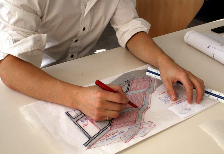 Contractor sketching