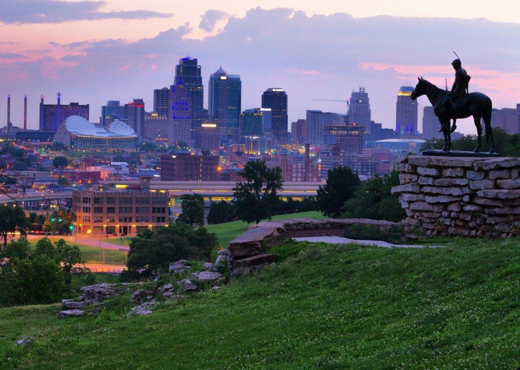 View of Kansas city skyline