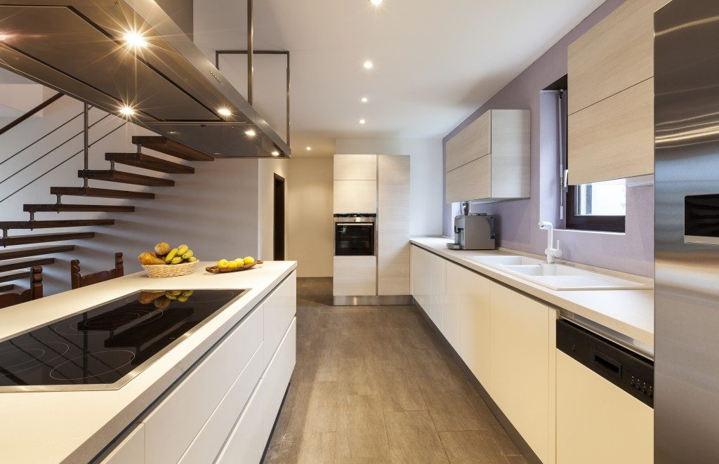 Modern minimalist design kitchen
