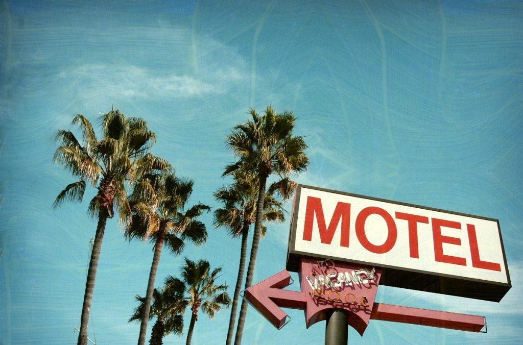 motel signboard