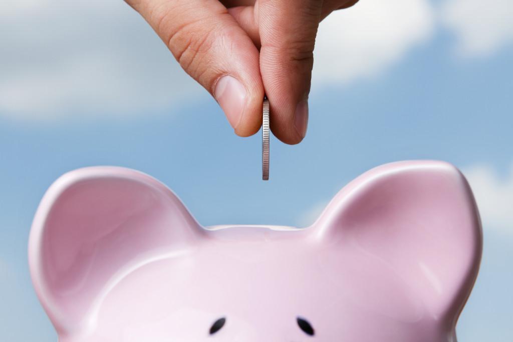 piggy bank saving