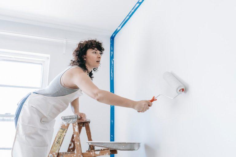 DIY wall painting