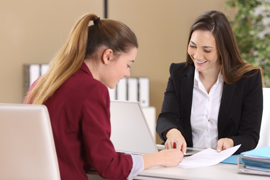 employee one on one with mentor